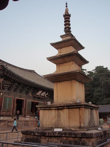 仏国寺三層釈迦塔