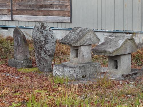 南会津村の石造物