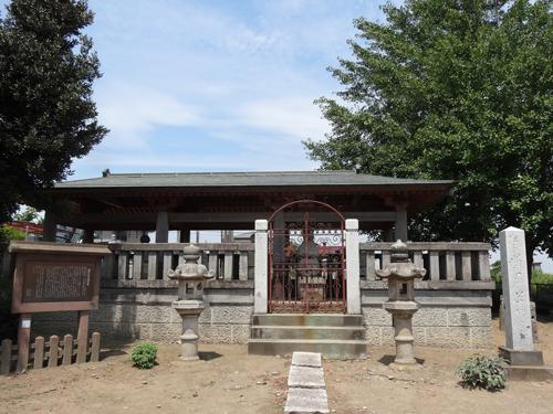 岡部六弥太墓地