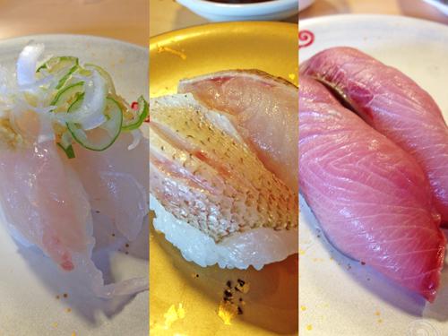 佐渡産寿司ネタ